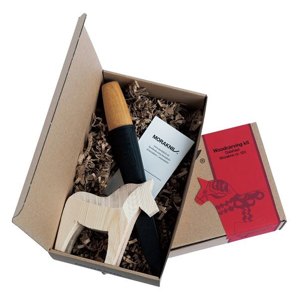 [MORAKNIV] WOODCARVING KIT 瑞典達拉雕刻禮盒 (12670)