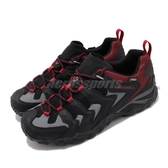 Merrell 戶外鞋 Chameleon Shift Ventilator GTX 黑 紅 男鞋 Gore-Tex 防水 越野 運動鞋【ACS】 ML65007