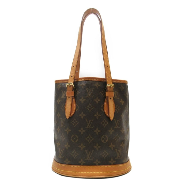 路易威登 LOUIS VUITTON LV 原花手提肩背水桶包 Petit Bucket PM M42238
