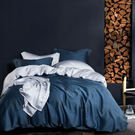 Pure One 天絲系列.TENCEL-一彎心跡-新時代親膚纖維-單人三件式鋪棉兩用被套床包組