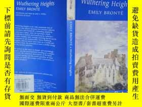 二手書博民逛書店Wuthering罕見Heights emily brontë(