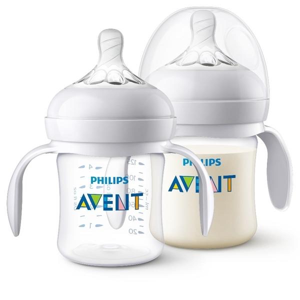 Philips Avent 新安怡 - 親乳感PA防脹氣奶瓶 125ml 2入 (附握把)
