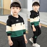 男童套裝童裝男童套裝兒童中大童男孩秋款韓版洋氣潮