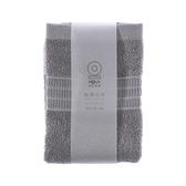 HOLA 土耳其典雅素色方巾-銀灰30x30cm