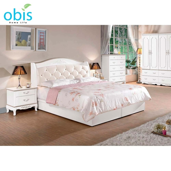 OB003-諾維雅5尺被櫥式雙人床(19CM/617-2)【DD House】