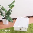HOUSE【652090】床下-整理箱(附蓋)-3入收納箱/收納袋/衣櫃/衣櫥/棉被收納