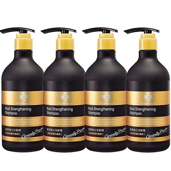 【南紡購物中心】《台塑生醫》Dr's Formula髮根強化洗髮精580g*4瓶