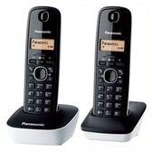 國際(雙子)數位長距離電話KX-TG1612TW (混色)