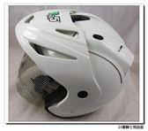 【GP5 A202 A-202 素色 安全帽 白】內襯全可拆洗、贈帽袋、免運費!