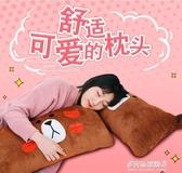 枕頭-枕頭學生宿舍 單人軟長枕頭可愛卡通動漫日式雙人枕情侶枕可拆洗 YYS 多麗絲