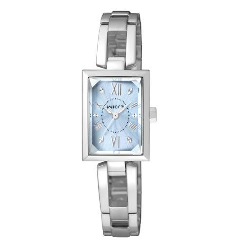 CITIZEN wicca法式優雅甜心腕錶/藍面/BE1-011-71