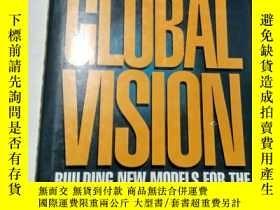 二手書博民逛書店Global罕見Vision: Building New Mod