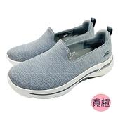 (C4) SKECHERS 女鞋 ARCH FIT 運動鞋 寬楦 健走鞋 足底筋膜炎舒緩 124480WGRY[陽光樂活]