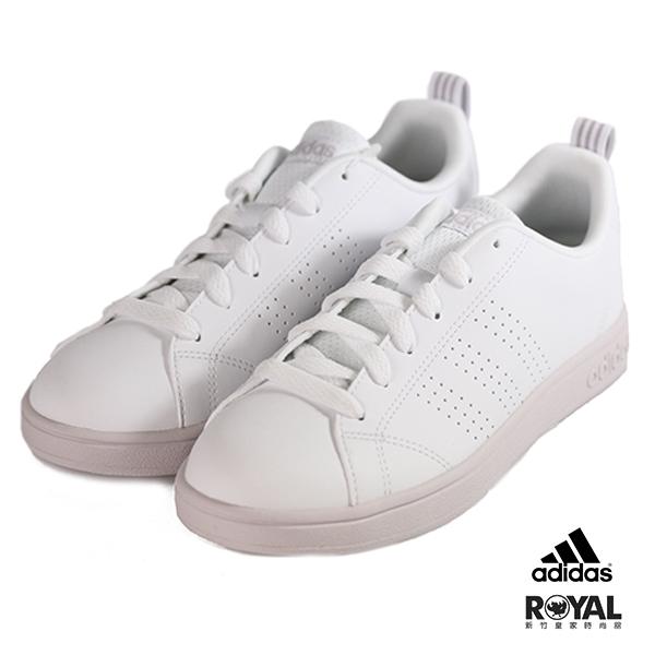 Adidas 新竹皇家 Advantage 白/粉紫色 運動休閒鞋 女款 No.I9154