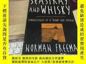 二手書博民逛書店英文原版罕見Seaspray and Whisky: Remin