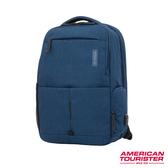 AT美國旅行者 Zork多功能可平開筆電後背包(海軍藍)