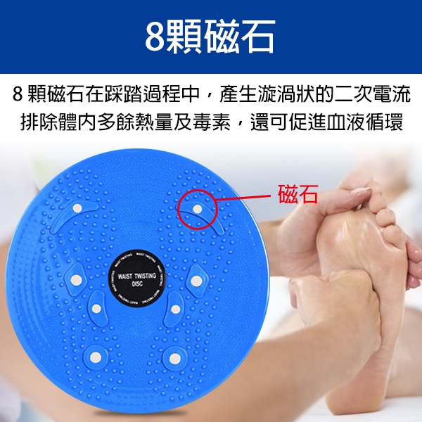 【coni shop】BLADE健腹加強磁石按摩扭腰盤 現貨 當天出貨 台灣公司貨 運動用品 扭腰盤 按摩足底