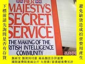 二手書博民逛書店her罕見majesty s Secret Service .Y