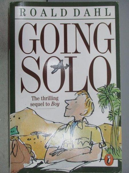【書寶二手書T1/原文小說_MNV】Going Solo_Roald Dahl