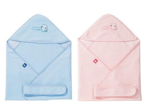 【奇買親子購物網】酷咕鴨KU.KU. 春夏酷酷抱巾(藍色/粉色)