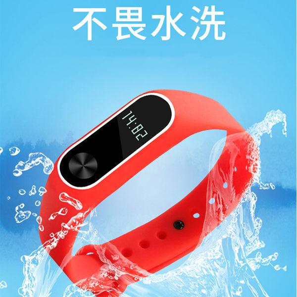 贈保護貼 小米手環 2 3 雙色矽膠錶帶 矽膠 防水 替換帶 防丟 手錶帶 彩色 腕帶 智能錶帶 光感版