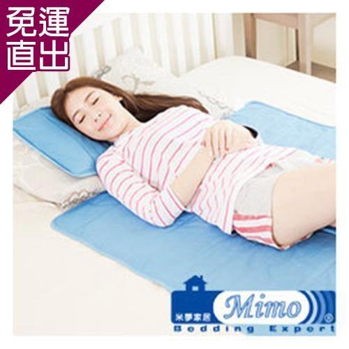 米夢家居 嚴選長效型降6度冰砂冰涼墊(小)30*40枕頭專用1入【免運直出】
