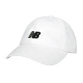 NEW BALANCE 帽子(純棉 防曬 遮陽 鴨舌帽 休閒 NB≡體院≡ LAH91014WT