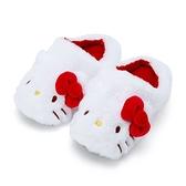 小禮堂 Hello Kitty 絨毛室內拖鞋 (冬日特輯) 4550337-05759