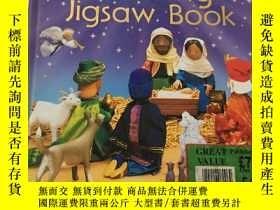 二手書博民逛書店Nativity罕見Jigsaw BookY23470 Jo L