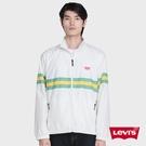 Levis 男款 風衣外套 / 色塊拼接 / 迷你Logo / 後領Logo / 白