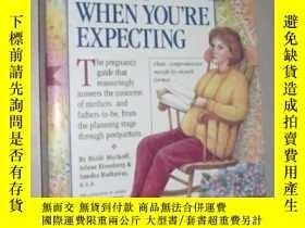 二手書博民逛書店原版罕見What to Expect When You re E
