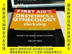 二手書博民逛書店First罕見Aid for the Obstetrics&Gy