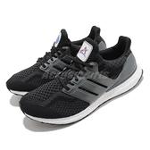 adidas 慢跑鞋 UltraBOOST 5.0 DNA 黑 灰 男鞋 NASA 美國太空總署 愛迪達 【ACS】 FZ1855