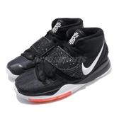 Nike 籃球鞋 Kyrie 6 GS 黑 白 Jet Black 女鞋 大童鞋 【ACS】 BQ5599-001