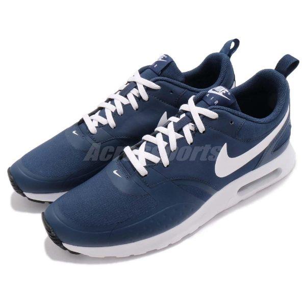 【五折特賣】Nike 休閒慢跑鞋 Air Max Vision 藍 深藍 白 休閒鞋 運動鞋 氣墊 男鞋【PUMP306】 918230-402