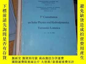 二手書博民逛書店3rd罕見consultation on solar physi