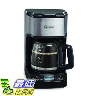 [7美國直購] 咖啡機 Capresso 426.05 5-Cup Drip Mini Coffeemaker, Black/Silver