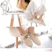 《SD0181》台灣製.手工編織縫線設計綁帶牛津鞋 OrangeBear