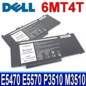 DELL 6MT4T 原廠規格 電池 Precision 15 3000 3510 M3510 workstatio