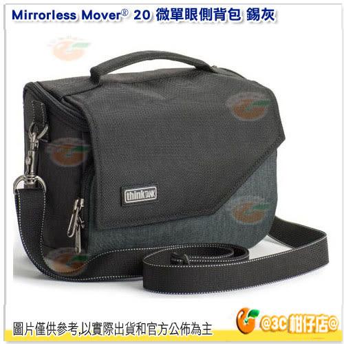 創意坦克 Thinktank Mirrorless Mover 20 微單眼側背包 公司貨 灰藍紅TTP656