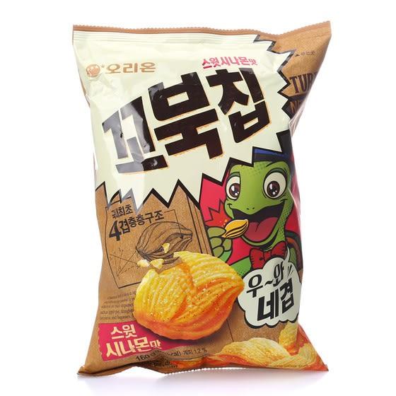 韓國 Orion 好麗友 烏龜玉米脆片 肉桂 美式甜肉桂風味 65g D38