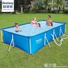 支架游泳池家用大人家庭小孩加厚大型戶外養魚池 喵小姐