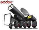 又敗家Godox神牛6合1機頂閃燈配件組(蜂窩罩柔光罩反光片束光罩濾色片冷靴攝影B架適尼康佳能SA-K6