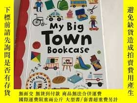 二手書博民逛書店My罕見Big Town Bookcase)6本合售)帶盒Y13534 Really Decent Bookc