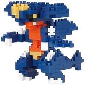 《 Nano Block 迷你積木 》【 神奇寶貝 系列 】NBPM_075烈咬陸鯊 / JOYBUS玩具百貨