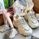 ins潮老爹鞋子女鞋2020夏季新款百搭透氣網紅厚底增高超火運動鞋【蘿莉新品】