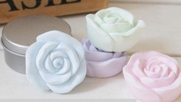 玫瑰花硅藻土香芬精油擴香組-水蜜桃