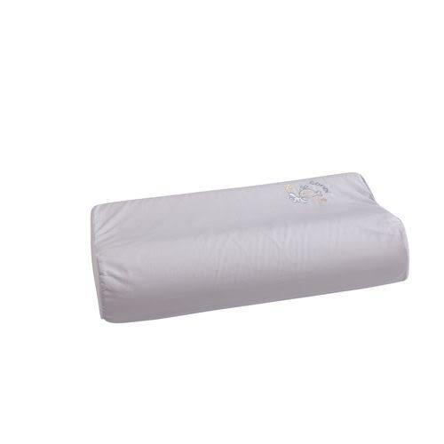 康貝 Combi 小魚銀纖乳膠兒童枕+枕套(粉藍)[衛立兒生活館]