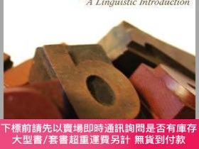 二手書博民逛書店預訂English罕見Words - A Linguistic IntroductionY492923 Hei