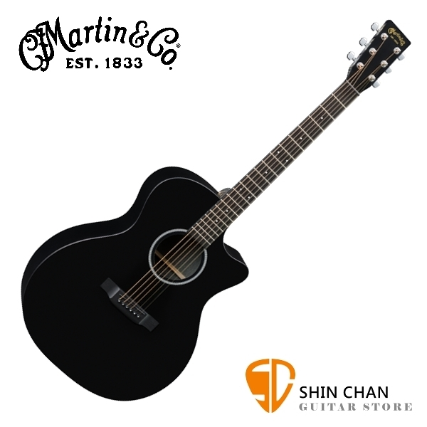 Martin GPCXAE BLACK41吋可插電民謠吉他 GP桶身【GPCXAE-BLACK/電木吉他/台灣總代理/公司貨】